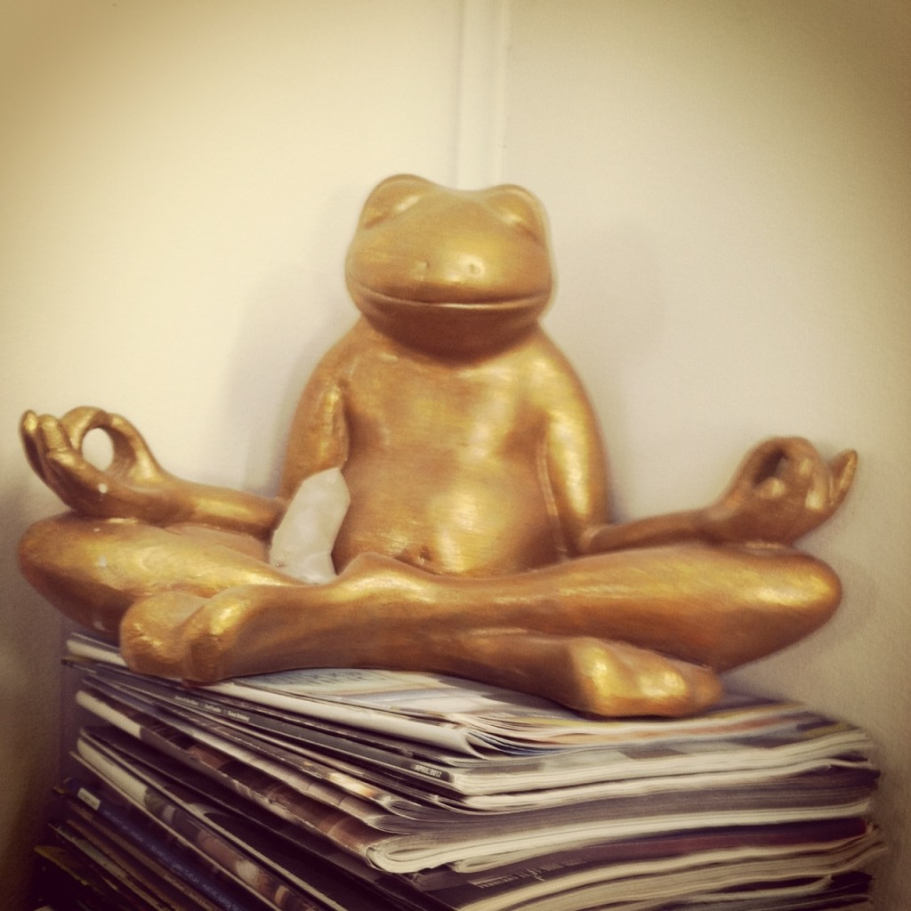 Reiki Frog Gold Goddess Reiki Share