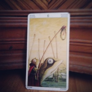 padmes card of the day 6 of wands