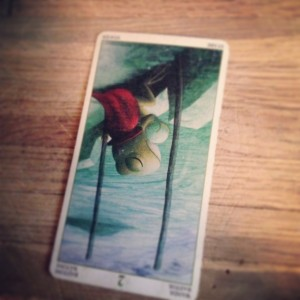 padmes card of the day 2 of wands reversed