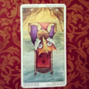 padmes card of the day queen of pentacles reversed