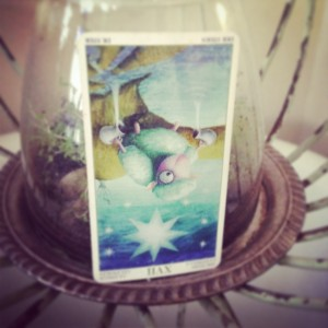 padmes card of the day the star reversed