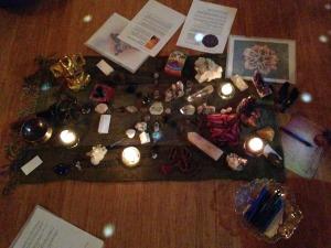 Goddess Reiki Share Crystal Grid