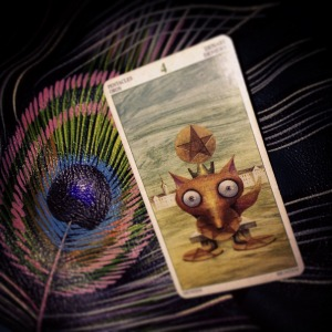 padmes daily tarot 4 of pentacles