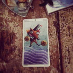 padmes card of the day 2 of pentacles