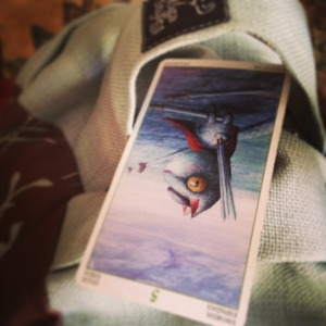 5 of swords padmes daily taot