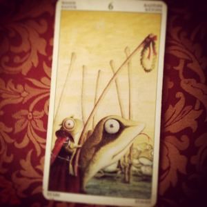 padmes daily tarot 6 of wands