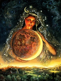 moon goddess reiki share