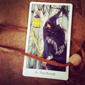 Padmes Daily Tarot The Hermit
