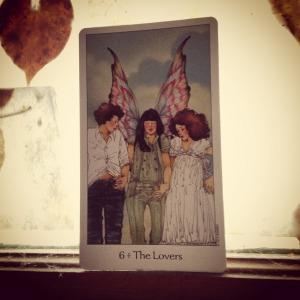 Padmes Daily Tarot Lovers Tarot