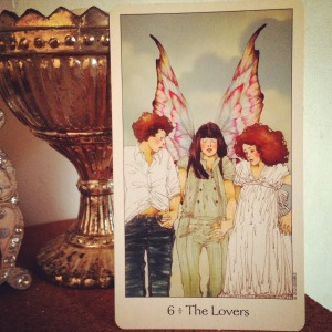 padmes daily tarot the lovers