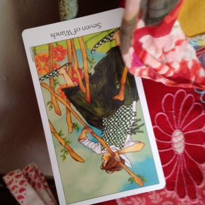 Virgo tarotscope November 2014 7 of wands reversed