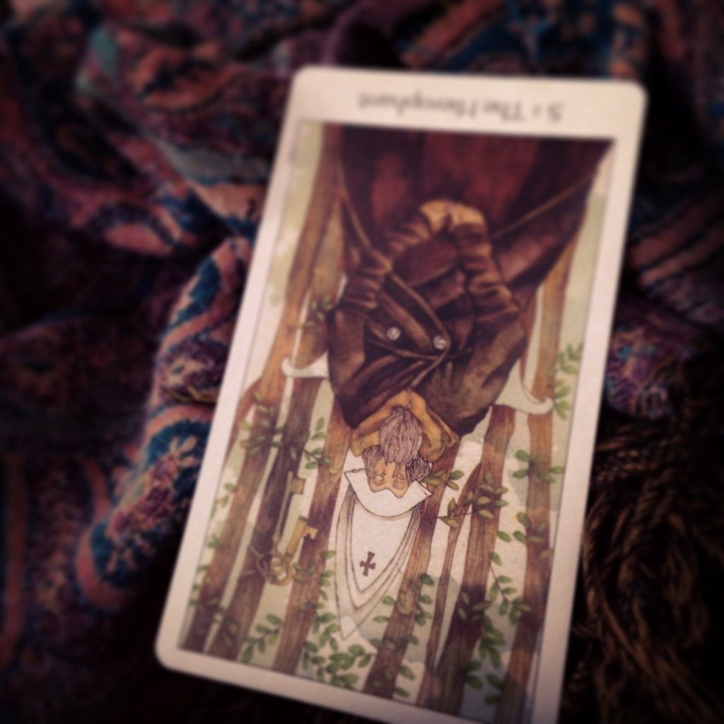 Padmes Card of the Day—The Hierophant reversed