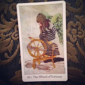 Padmes Card of the Day The Wheel of Fortune