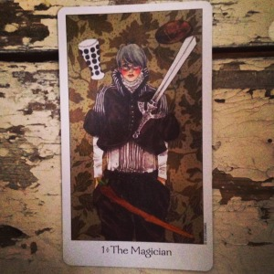 padmes card of the day the magician