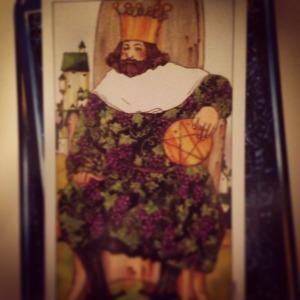 Padmes Daily Tarot King of Pentacles