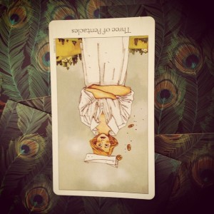3 of pentacles reversed Padmes Card of the Day