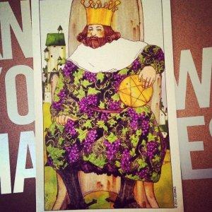 King of Pentacles Padmes Daily Tarot