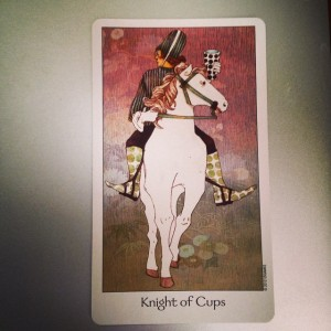 Knight of Cups Padmes Daily Tarot