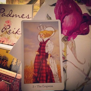 The Empress Padmes Daily Tarot