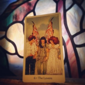 The Lovers Padmes Daily Tarot