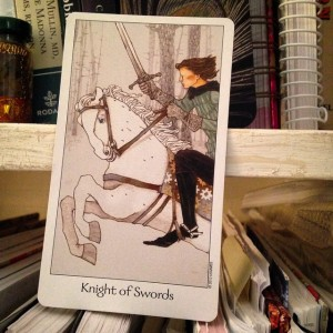 knight of swords padmes daily tarot