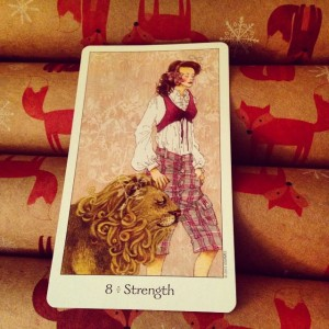 strength card Padmes Card of the Day