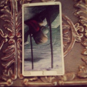 2 of wands reversed Padmes Daily Tarot