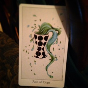 Ace of Cups Padmes Card of the Day