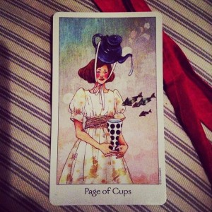 Page of Cups Padmes Daily Tarot