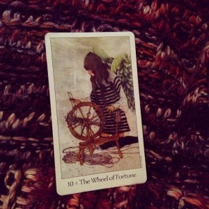 Wheel of Fortune Padmes Daily Tarot